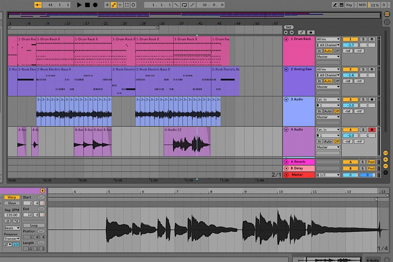 Ableton Schlager Bass